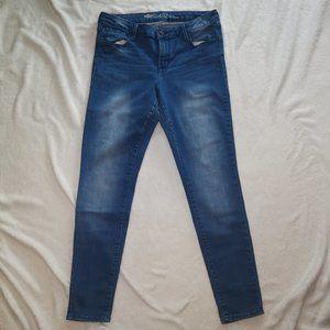Old Navy Rockstar Mid-Rise Super Skinny Jeans